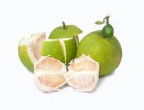 Grön pomelo Royaltyfri Bild