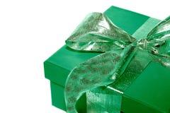 grön present Royaltyfri Fotografi