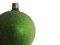 grön prydnad Arkivfoton