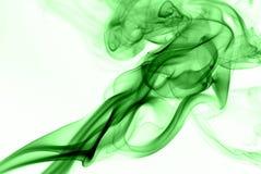 grön rök Arkivfoto