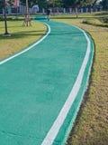 grön racecourse Royaltyfri Bild