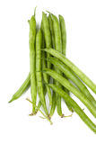 grön rad för bönor Royaltyfria Foton