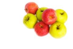 grön red för äpplen Royaltyfri Fotografi