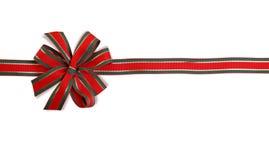 grön red för bow Fotografering för Bildbyråer