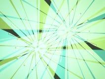 grön reflexion royaltyfri illustrationer