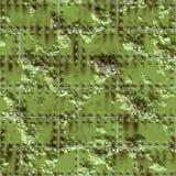 grön riden ut metallyttersida vektor illustrationer