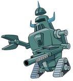 grön robot Fotografering för Bildbyråer