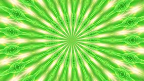 Grön rotationsabstrakt begreppbakgrund utgjorde av många små beståndsdelar 2 stock video