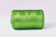 grön rulltråd Royaltyfria Bilder