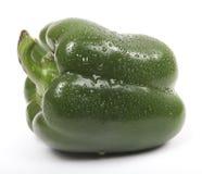 Grön söt peppar royaltyfri bild