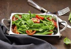 grön sallad för bönor Royaltyfri Foto