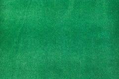 Grön sammetbakgrund Royaltyfri Foto