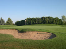 grön sand Royaltyfri Fotografi