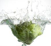 grön savoy för kål Arkivbilder