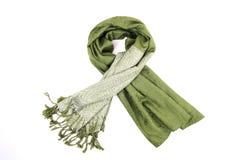 grön scraf Arkivbild