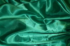 grön silk för bakgrund royaltyfria bilder