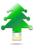 Grön sim. stock illustrationer