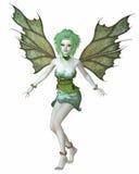 Grön skogfe stock illustrationer