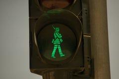 Grön soldat Arkivbild