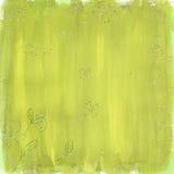 grön sommar för bakgrund Arkivbild