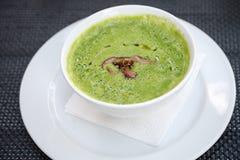 Grön soup Royaltyfria Foton