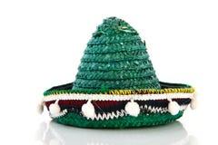 Grön spansk sombrero Arkivbild
