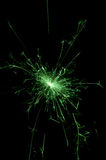 grön sparkle arkivfoton