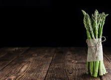 Grön sparris royaltyfri bild