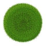 grön sphere för gräs Royaltyfri Bild
