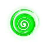 grön spiral Royaltyfri Fotografi
