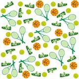 Grön sportbakgrund vektor illustrationer
