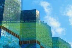 Grön stad, begrepp Arkivfoton