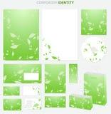 grön stil för affär Royaltyfri Fotografi