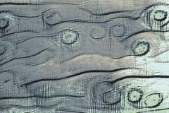 Grön stubbig textur av grönt träsnickeri och skadade plankor royaltyfria bilder