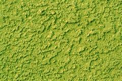 grön stuckatur Arkivfoto