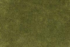 grön suede Arkivfoton
