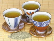 grön sund tea Fotografering för Bildbyråer