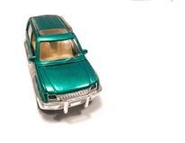 Grön SUV bil Royaltyfria Bilder