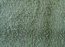 Grön svamphandduk Arkivfoton