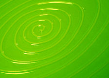 grön swirl Arkivfoton