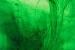 grön swirl Royaltyfri Foto