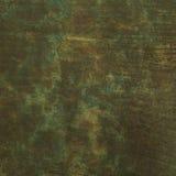 Grön syra tvättad lädertrycktextur Arkivfoto