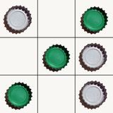 grön tac-muskelryckningtoe royaltyfri fotografi