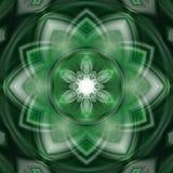 Grön tapet för hem och kontor stock illustrationer