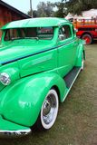 grön tappning för bil Royaltyfri Foto