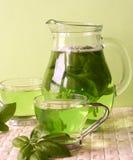 grön tea arkivfoto