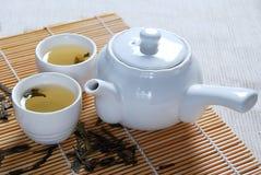grön tea 3 Arkivbild