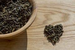 grön tea royaltyfri bild