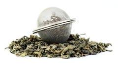 grön tea Royaltyfri Fotografi