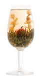grön tea för bägare Royaltyfri Fotografi